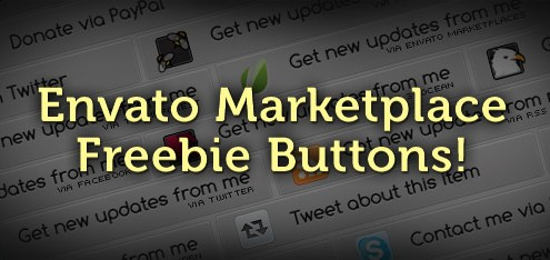Envato Marketplace Freebie Buttons