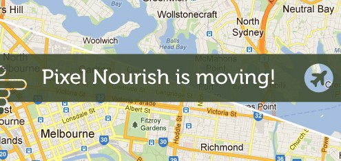 Pixel Nourish is moving!