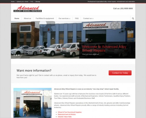Advanced Alloy Wheel Repair - Homepage