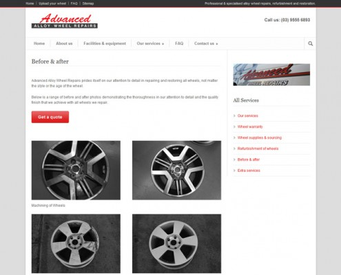 Advanced Alloy Wheel Repair - Before & After