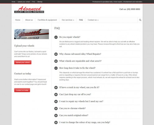 Advanced Alloy Wheel Repair - FAQ