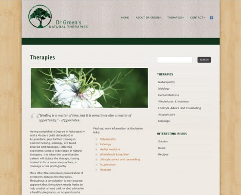 Dr Green's - Therapies